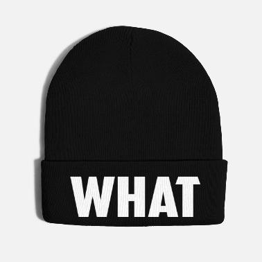 Word what word - Knit Cap
