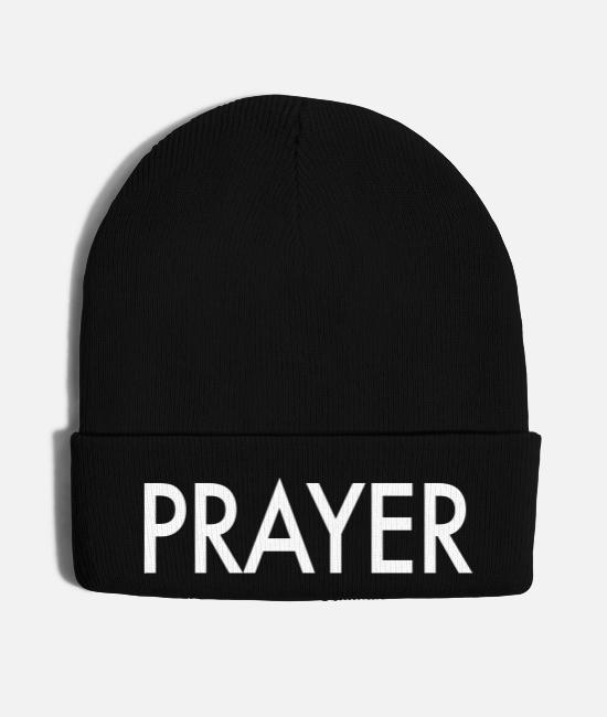 Church Caps & Hats - Prayer - Knit Cap black