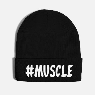 Muscle Muscle Hashtag - Knit Cap