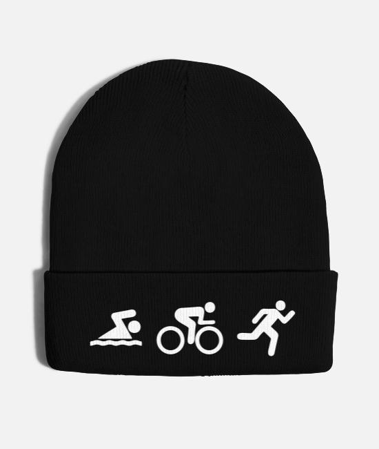 Design Caps & Hats - triathlon - Knit Cap black