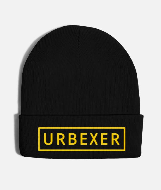 Lost Caps & Hats - URBEXER! - Knit Cap black