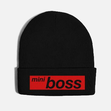 Kindergarten little chief minimal typo boss bester humor cool - Knit Cap