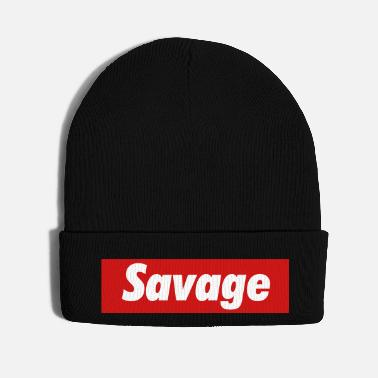 Person SAVAGE, BALLS OF STEEL - Knit Cap