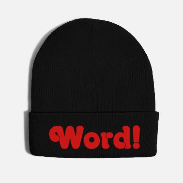Word Word! - Knit Cap