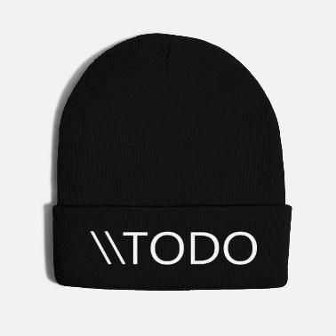Web Developers TODO - Knit Cap