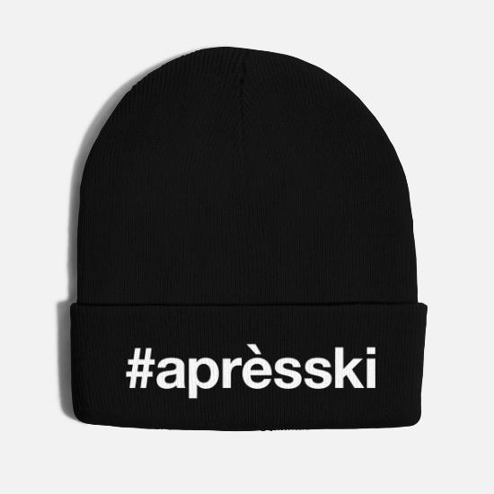 Ski Caps - APRES-SKI - Knit Cap black