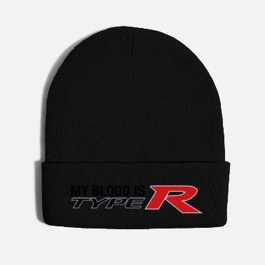 Modern My Blood is Type R Modern - Knit Cap
