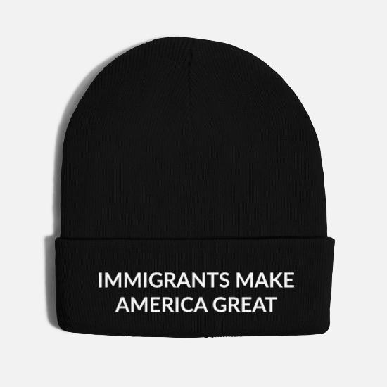Trump Caps - IMAG - Knit Cap black