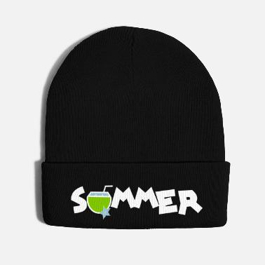 Lounge summer drink coconut water - Knit Cap