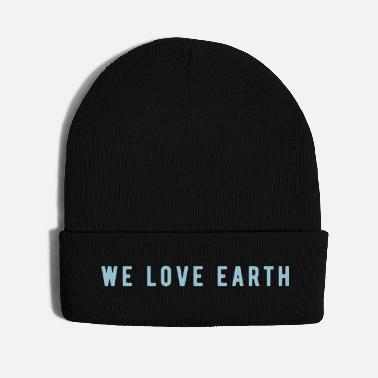 Enviromental earth love - Knit Cap