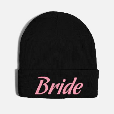 Bachelorette Bride - bachelorette party t-shirt deisgn - Knit Cap