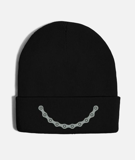 Repair Caps - chain - Knit Cap black