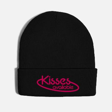Neon Kisses Available NEON SIGN - Knit Cap