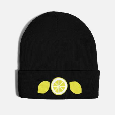Fruit Lemon fruits - Knit Cap