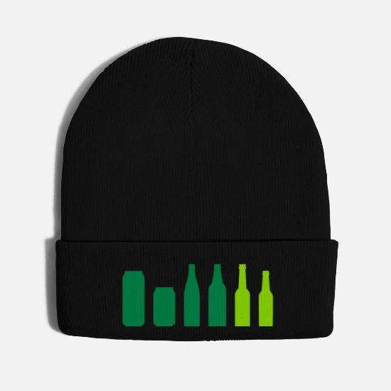 Alcohol Caps - Beer by Rones - Knit Cap black