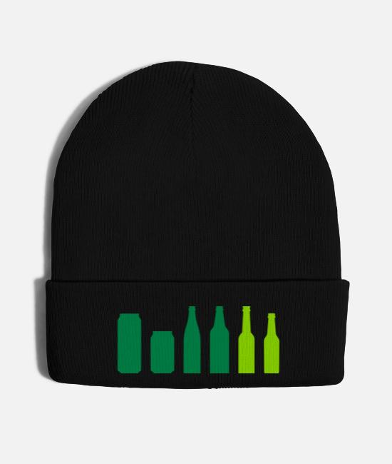 Give Caps & Hats - Beer by Rones - Knit Cap black