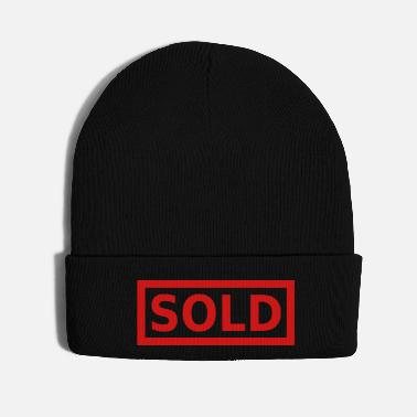 Font sold big font bachelor party - Knit Cap