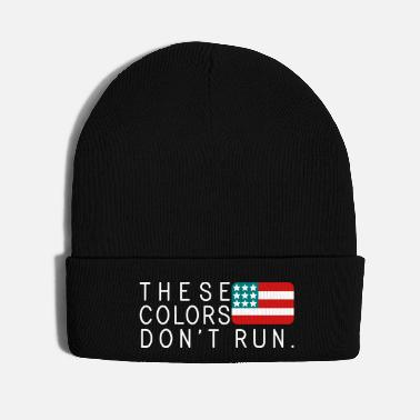 Policeman These Colors Don't Run - Knit Cap