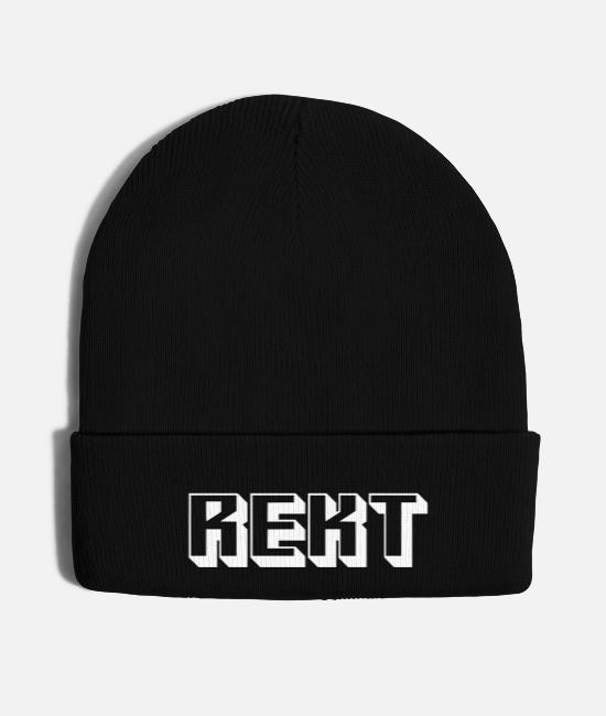 Game Caps & Hats - Rekt - Knit Cap black