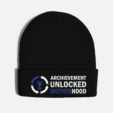 Pregnant Archievement Unlocked Motherhood - Knit Cap