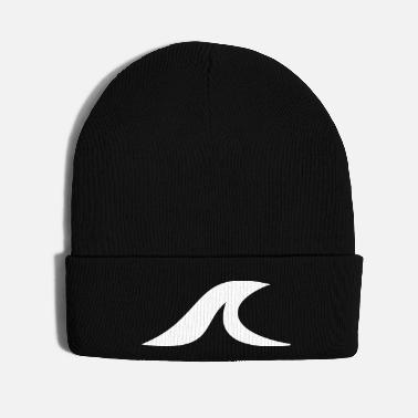 wave save the ocean - Knit Cap