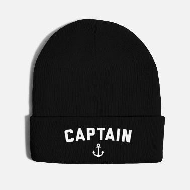Quote Captain Nautical Quote - Knit Cap