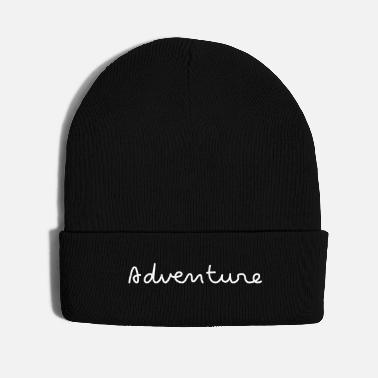 Pure Adventure simple handwriting - Knit Cap