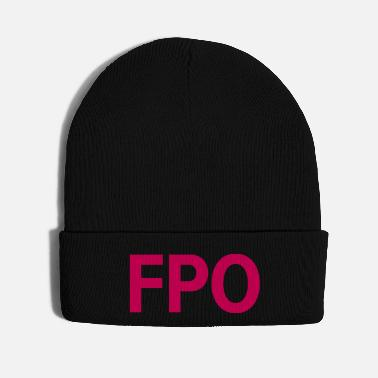 Ignore FPO — For Placement Only - Knit Cap