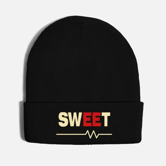 Electricity Caps - Sweet Electrical Engineer - Knit Cap black