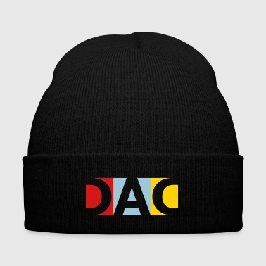 DAD - Knit Cap with Cuff Print