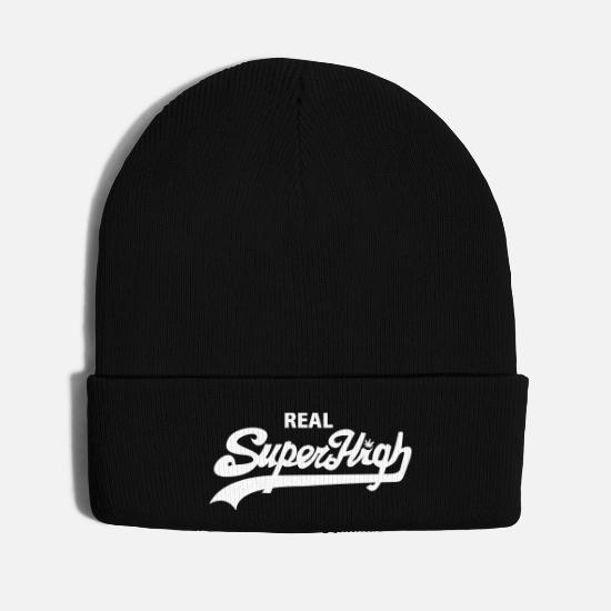 Dope Caps - Superhigh for Hats - Knit Cap black