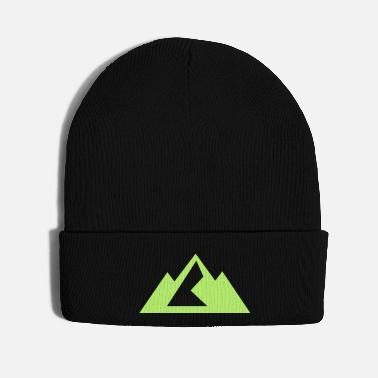 Mountain Climbing mountain - Knit Cap