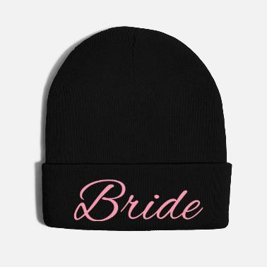Picture Bride Text Word Graphic Design Picture Vector - Knit Cap