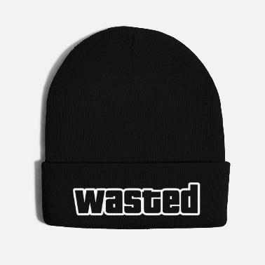 Gamer wasted / outlines only - Knit Cap