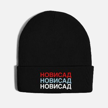 Cyrillic NOVI SAD - Knit Cap