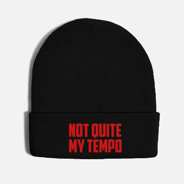 Trend Animal not quite my tempo funny quote - Knit Cap