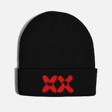American Indian xx afro american - Knit Cap