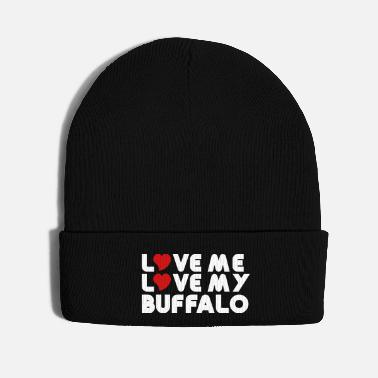 Water Love Love Me Love My Buffalo - Knit Cap
