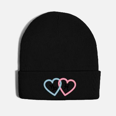 December Capricorn and Pisces in love 3 colors - Knit Cap
