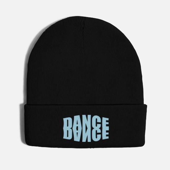 Mirror Caps - dance mirror image - Knit Cap black