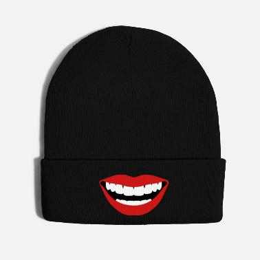 Kiss Sexy Lips Laughing - Knit Cap