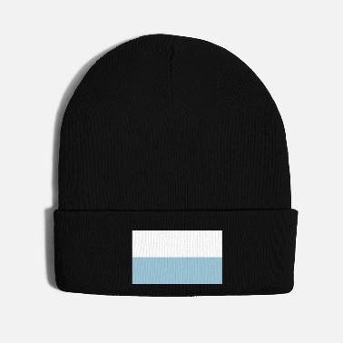 Pattern Flag of Bavaria - Bavarian Flag - Knit Cap