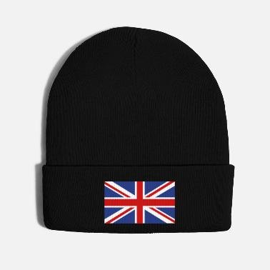 Union Jack British Flag - Knit Cap