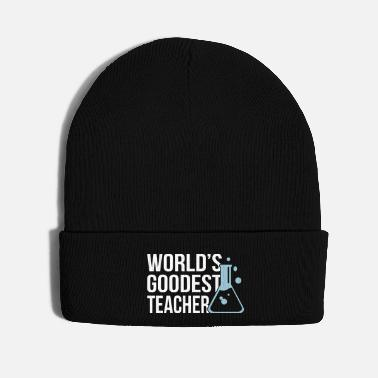 Periodic Table World's Goodest Teacher math - Knit Cap