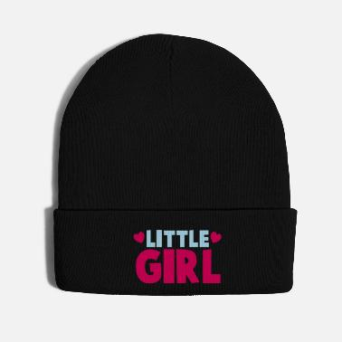 Little LITTLE GIRL with cute little hearts - Knit Cap