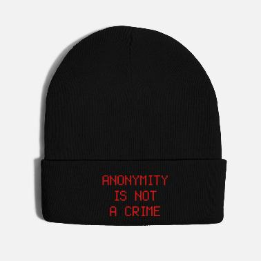 Anonymous anonymity - Knit Cap