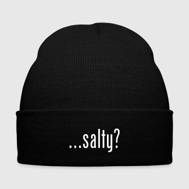 salty - Knit Cap with Cuff Print