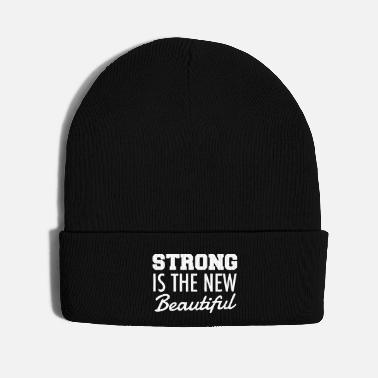 Beautiful STRONG IS THE NEW BEAUTIFUL - Knit Cap