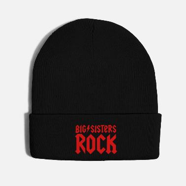 Pregnant Big Sisters Rock little brother sister bro sis - Knit Cap