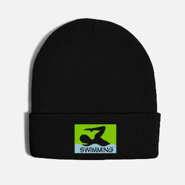 Swim swimming - Knit Cap
